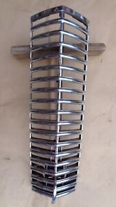 1939 Nash Grille Original Center Bars Lafayette Ambassador Custom