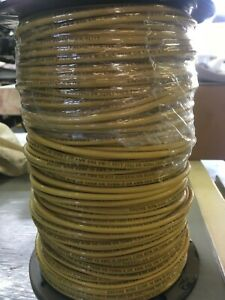 Electrical Thhn thwn 500 Ft 10 Awg Stranded Copper Wire Yellow