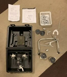 Hanau Semi arcon Articulator 192 With Case Facebow And Many Assessories