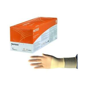 Protexis Polyisoprene Surgical Glove Powder free Size 7 5 Part No 2d72pt75x