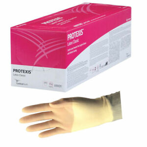 Protexis Latex Classic Surgical Gloves With Nitrile Coating 9 8 Mil 7 5 Part