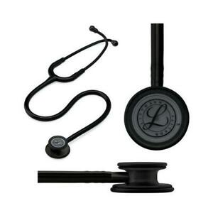 Littmann Classic Iii Stethoscope Black Edition Chestpiece Black Tube 27 Part