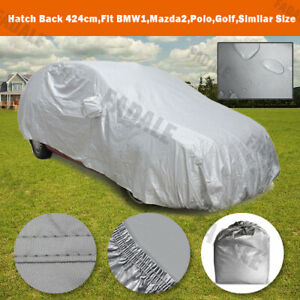 Waterproof Car Cover 167 Long Universal Fit For Subcompact City Cars Uv Bch0s