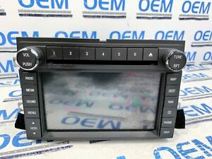 2012 12 Ford Expedition Radio Navigation Gps Cd Display Touch Screen Oem