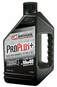 Maxima 30 02901 Pro Plus 10w 40 Synthetic Motorcycle Engine Oil 1 Liter