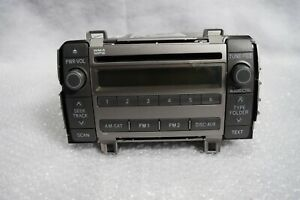2009 2010 Toyota Matrix Radio Receiver Cd Player 11819 86120 02710 Oem