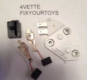 New One 1 Wire Voltage Regulator Kit For Delco 10si 12si Gm Alternator