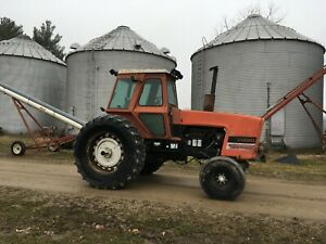 Allis Chalmers 7080 Tractor Runs Good 426 Motor
