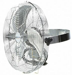 Ceiling Wall Mount Air Circulator Fan W 8 Cord 3 Speed Mode 12