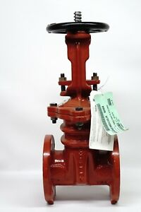 New Mueller 3 R 2365 6 O s y Fire Main Gate Valve 250psi