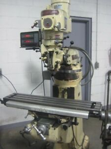 Chevalier Model Fm 3vs 9 42 Vertical Milling Machine