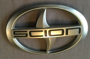 2011 2016 Scion Tc Rear Trunk Lid Center Emblem Logo Badge Sign Oem Genuine