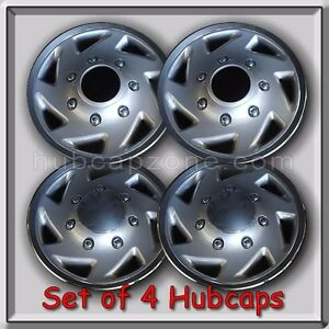 4 16 1995 2002 Ford Truck 4x4 F 250 Hubcaps Wheel Covers 4wd Free Shipping