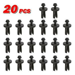 20pcs Arm Rest Storage Seat Asm Plastic Push Retainer Rivet For Pontiac Fiero