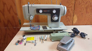 Kenmore 130 Sewing Machine Heavy Duty Leather Upholstery Denim Serviced
