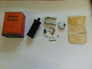 Nos 1940 1947 Buick Straight 8 Delco Remy Ignition Coil Kit In Original Box