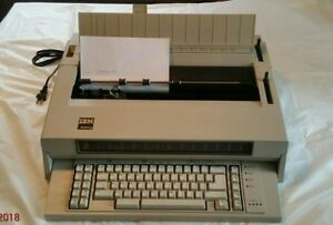 Ibm Wheelwriter 5 W paper Guide And Vinyl Cover Model 674x 1984