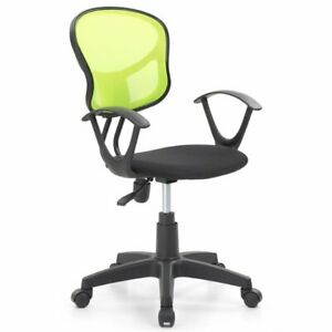 Pemberly Row Adjustable Height Swivel Task Chair In Green
