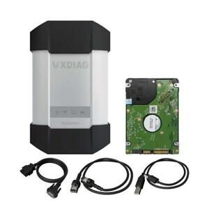Vxdiag C6 Doip audio Vci Scan For Mercedes Benz Diagnostic Tool Wireless Connect