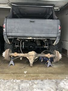 Dodge Ram Dana 70 Srw Single Rear Axle 3 54 Drum Brakes 4wd