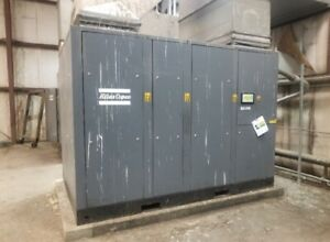 Atlas Copco Ga315vsd Used Air Compressor Yr 2006 56 897hrs 350hp