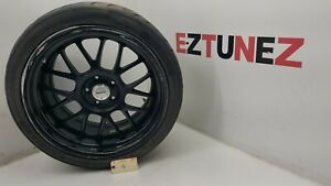 2012 Infiniti G37s Coupe Wheel Rim Tire Assembly 19 Work Meister 275 35r19 96w