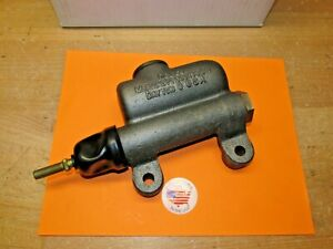 1953 Buick Super Roadmaster Brake Master Cylinder New Delco With Updated Parts