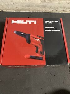 Hilti Sd 4500 a18 18 volt Cordless Screwdriver Tool Body With Box And Battery