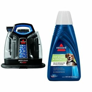 Bissell 5207f Carpet Cleaner Machine Spot Wave Heat Extractor Stain Pet Stain