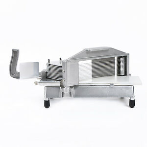 Commercial Tomato Slicer Tomato Cutter With Tempered Stainless Steel Inch