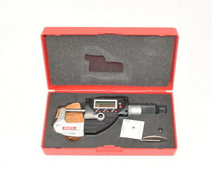 Spi 0 1 0 00005 Ip65 Electronic Outside Micrometer W case