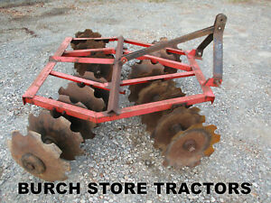 3 Point Hitch Double Gang Disc Harrow 6 Foot Wide