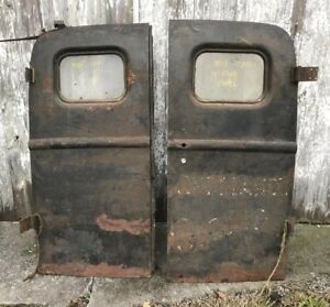 1940 1941 Ford Panel Truck Delivery Rear Doors Nice Flathead Panel
