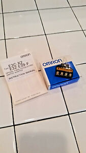 Omron E3c x2c Photoelectric Switch Adapter