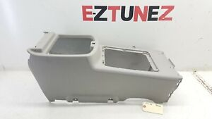 2007 2013 Chevrolet Tahoe Center Console Shell Frame Panel Oem Silver