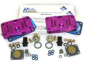 4150 E85 Conversion Kit Holley 650 700 750 800 850 950 1050 Purpl Do It Yourself