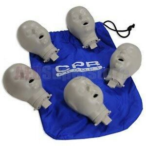 Cpr Prompt Heads Infant 5 Pack for Blue Manikin W case