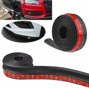 2 5m Car Front Bumper Quick Lip Splitter Body Spoiler Skirt Rubber Protector