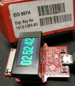 4d Systems Iod 09th Kit 0 9 80x160 Ips Tft Esp8266 Arduino Compatible