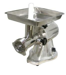 Omcan 22 Stainless Steel Meat Grinder W 1 5 Hp Motor W Reverse Switch 21634