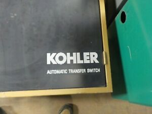 Kohler Transfer Switch 277 480 Volt 400 Amp used