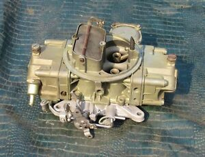429 Boss Holley1970 Ford Mustang 4647 List D00f 9510 S Carburetor Nice 70 Rare