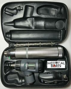 Welch Allyn Macroview Otoscope Ophthalmoscope c Handle Diagnostic Set