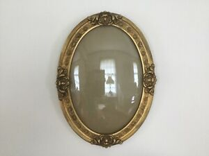 Oval Gilded Picture Frame From The Early 1900 S