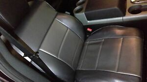 2004 2008 Ford F150 Passenger Rh Manual Black Leather Bucket Seat