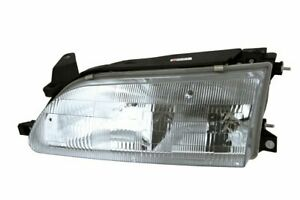 New To2502107 Driver Side Headlamp For Toyota Corolla 1993 1997