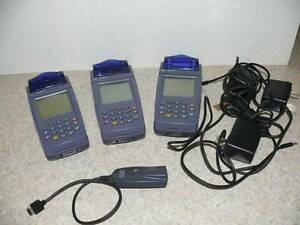 Lot Of 3 Verifone 8020 Credit Card Machine Reader Terminal Adapters dongle Nice