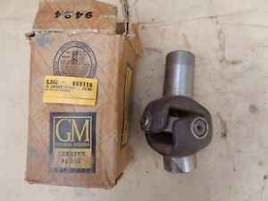 Nos 1933 1946 Chevy Truck U joint Assembly Original Gm Universal Joint 10 Spline