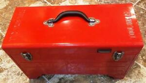 Snap On Tools Portable Toolbox Bbq Charcoal Smoker Grill New