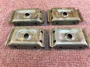 Lot Of Four Each Table Leg Corner Brackets